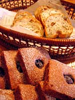 チェリーショコラと、いちじくのパン