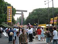 靖国神社の入り口